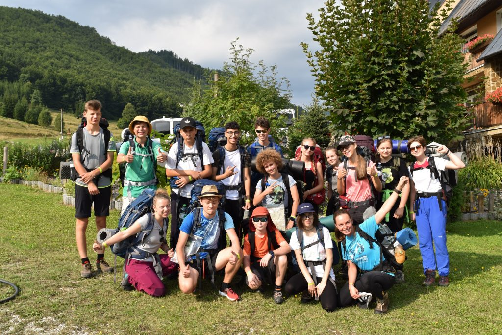 """""""It's a great opportunity to improve your English, meet really great people, learn about yourself, others, about work in a group and about leadership.""""2019 Camp participant"""